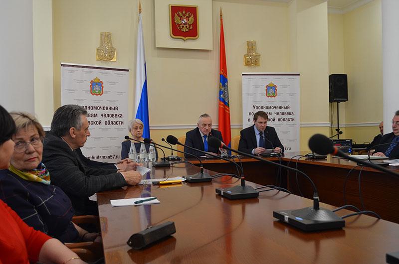 Тема паллиативной помощи прозвучала на очередном заседании Экспертно-консультативного совета при Уполномоченном по правам человека в Орловской области